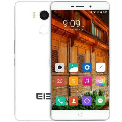 EU Raktár - Elephone P9000 4G okostelefon - Fehér