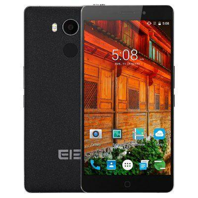 EU Raktár - Elephone P9000 4G okostelefon - Fekete