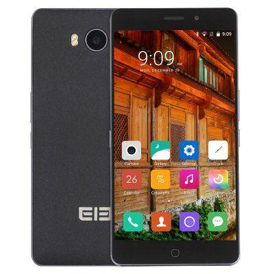 EU4 raktár - Elephone P9000 Lite 4G okostelefon - Fekete