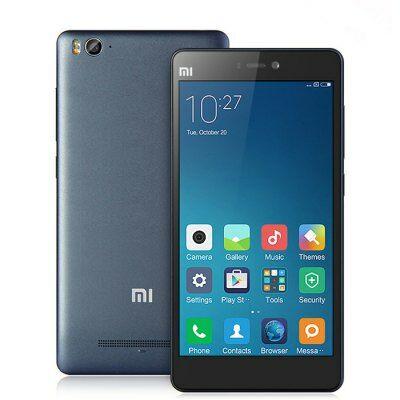 EU Raktárról - XIAOMI Mi4C 5.0 FHD IPS Android 5.1 S808 64bit 32GB Iránytű 4G Okostelefon - Metál szürke