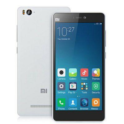 EU Raktárról - XIAOMI Mi4C 5.0 FHD IPS Android 5.1 S808 64bit 32GB Iránytű 4G Okostelefon - Fehér
