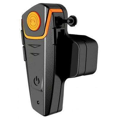 BT-S2 1000m Bluetooth motoros Intercom headset - Fekete