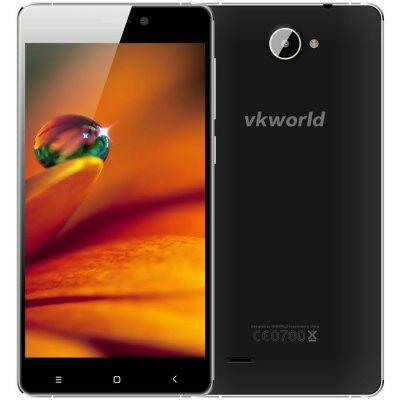 EU Raktárról - VKWORLD VK700X 5.0 HD IPS 3.0D Android 5.1 MTK6580A 3G Okostelefon - Fekete
