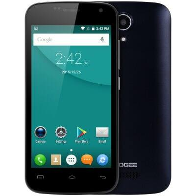 DOOGEE X3 3G okostelefon - Fekete