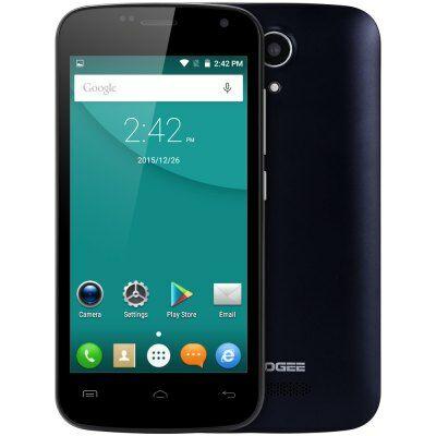 EU Raktár - DOOGEE X3 3G okostelefon - Fekete
