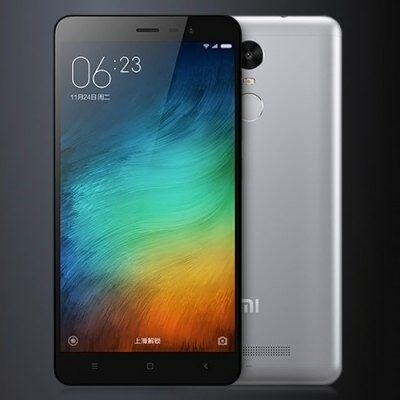 XIAOMI REDMI Note 3 5.5 FHD Android 5.0 Helio X10 32GB 4G Okostelefon - Szürke
