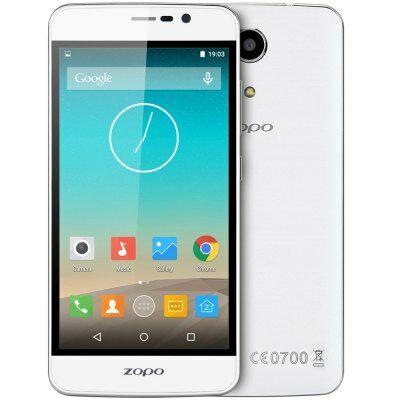 ZOPO Hero 1 5.0 HD IPS Android 5.1 MTK6735 OTG 4G okostelefon - Fehér