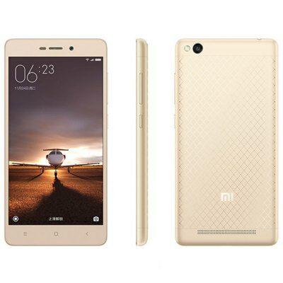 XIAOMI REDMI 3 5.0 HD Android 5.1 Snapdragon 616 16GB 4G Okostelefon - Mintás arany