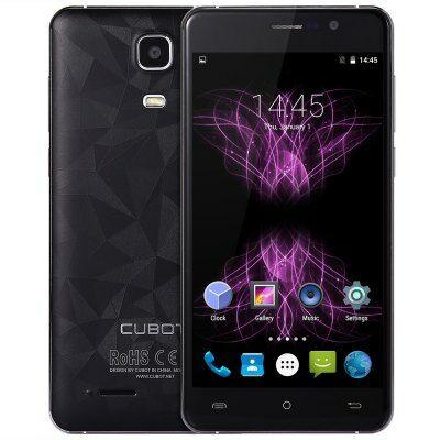 Cubot Z100 4G okostelefon - Fekete