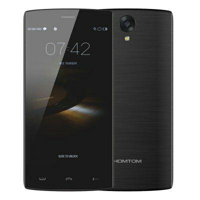 HOMTOM HT7 Pro 4G okostelefon - Fekete