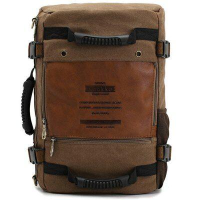 EU Raktárról - KAUKKO 18L variálható táska hátizsák laptop táska - Khaki