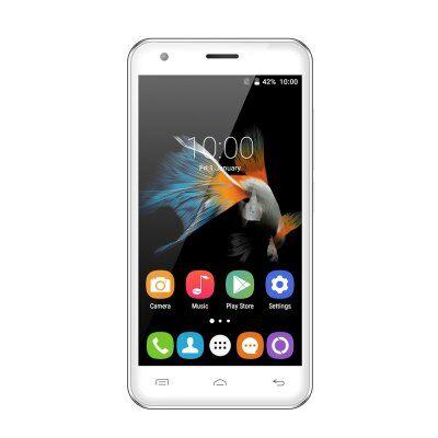 OUKITEL C2 4.5 FWVGA Android 5.1 OTA MTK6580 3G okostelefon - Fehér