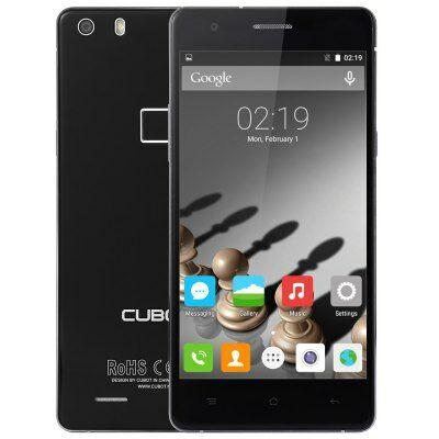 Cubot S500 4G okostelefon - Fekete