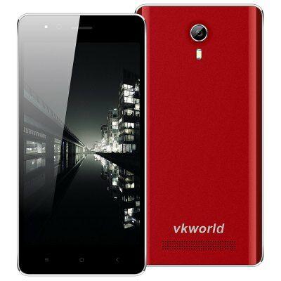 VKworld F1 3G okostelefon EU csatlakozó - Piros