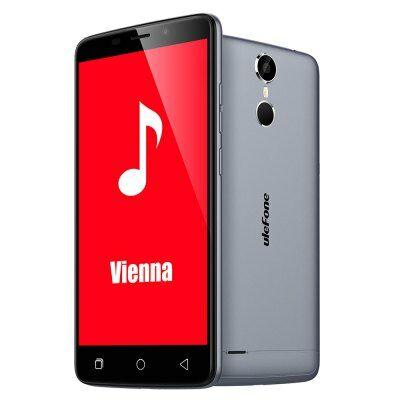 EU Raktár - Ulefone Vienna 4G okostelefon - Szürke