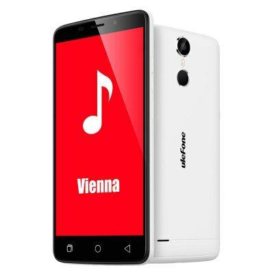 EU Raktár - Ulefone Vienna 4G okostelefon - Fehér