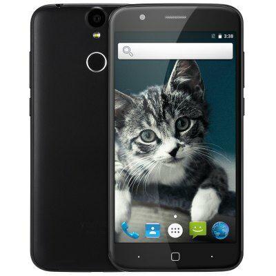 EU Raktár - Vernee Thor 4G okostelefon (EU) - Fekete