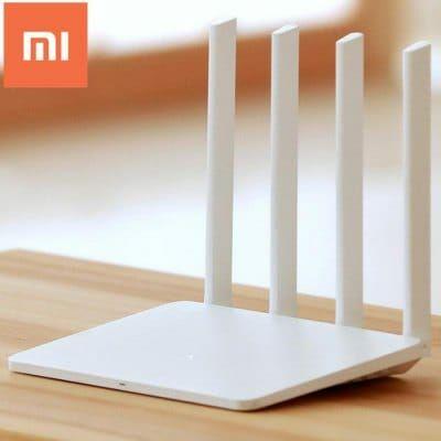 EU Raktár - Xiaomi Mi WiFi Router 3 Angol verzió (EU4) - Fehér