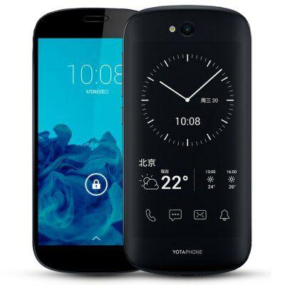 Yotaphone 2 4G okostelefon - Fekete