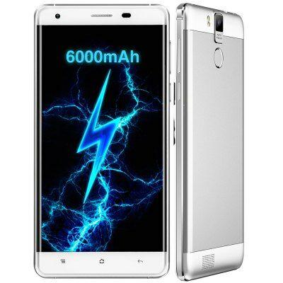 EU Raktár - OUKITEL K6000 Pro 4G okostelefon - Fehér
