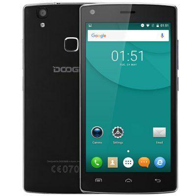 EU Raktár - DOOGEE X5 MAX 3G okostelefon - Fekete