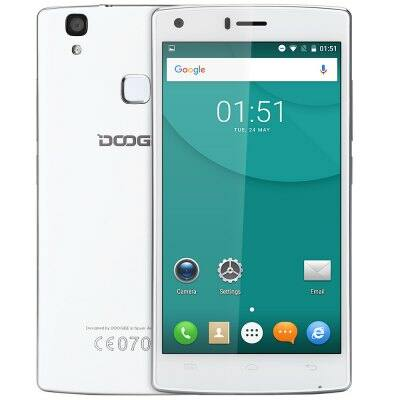 DOOGEE X5 MAX 3G okostelefon - Fehér