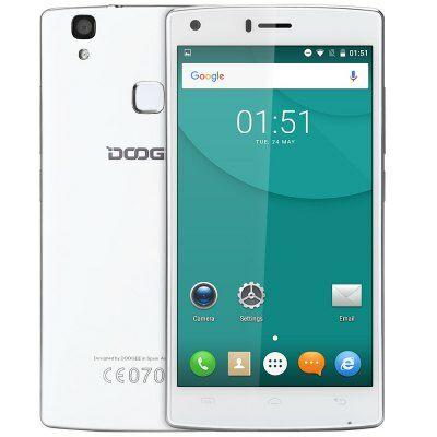 EU Raktár - DOOGEE X5 MAX 3G okostelefon - Fehér