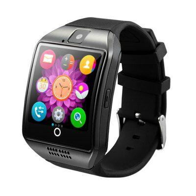 Q18 1.54 inch okosóra telefon - Fekete