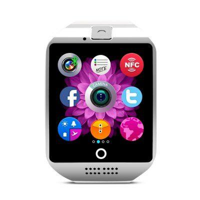 Q18 1.54 inch okosóra telefon - Fehér