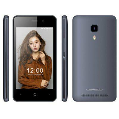 Leagoo Z1 4.0 WVGA IPS Android 5.1 MTK6580 OTG 3G okostelefon - Szürke