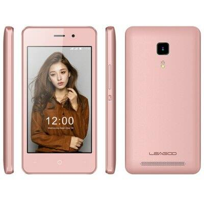 Leagoo Z1 4.0 WVGA IPS Android 5.1 MTK6580 OTG 3G okostelefon - Pink