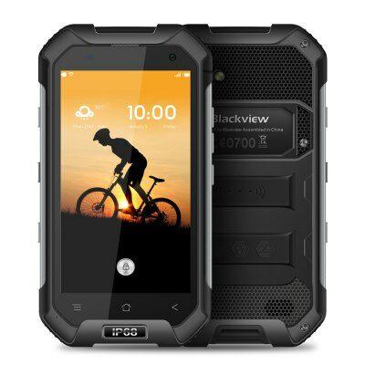 EU Raktár - Blackview BV6000 4G okostelefon - Fekete