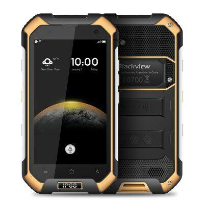 EU4 Raktár - Blackview BV6000 4G okostelefon - Sárga