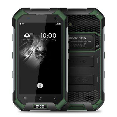 EU2 Raktár - Blackview BV6000 4G okostelefon - Zöld