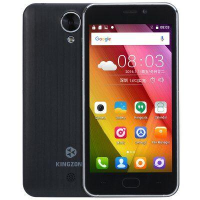 KingZone S2 3G okostelefon - Fekete