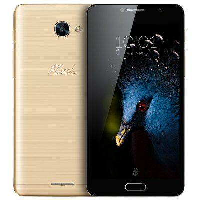 EU Raktár - Alcatel Flash Plus 2 4G okostelefon - Arany