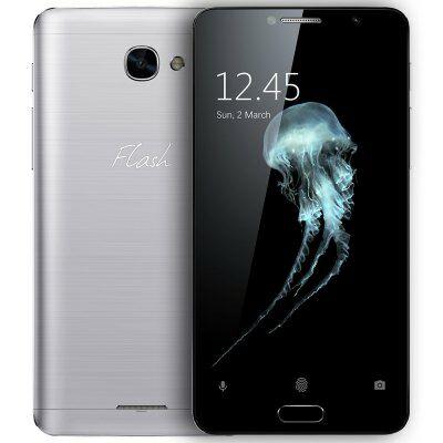 EU Raktár - Alcatel Flash Plus 2 4G okostelefon - Ezüst