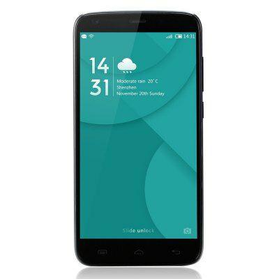 EU Raktár - DOOGEE T6 Pro 4G okostelefon - Fekete
