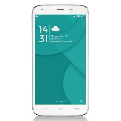 EU Raktár - DOOGEE T6 Pro 4G okostelefon - Fehér