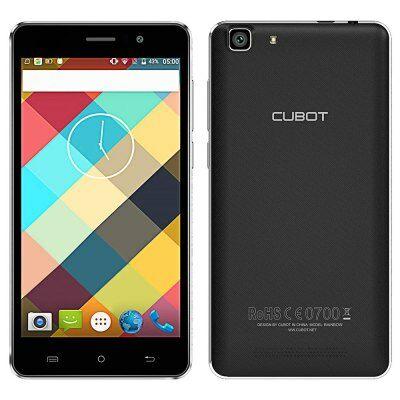 Cubot Rainbow 3G okostelefon - Fekete