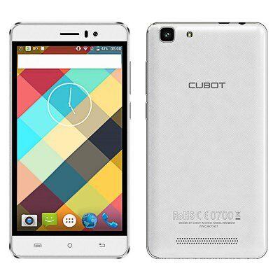 EU Raktár - Cubot Rainbow 3G okostelefon - Fehér