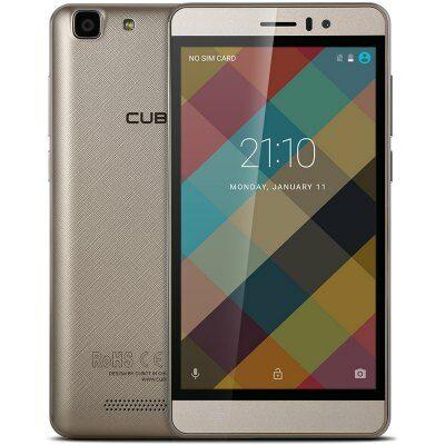 EU Raktár - Cubot Rainbow 3G okostelefon - Arany
