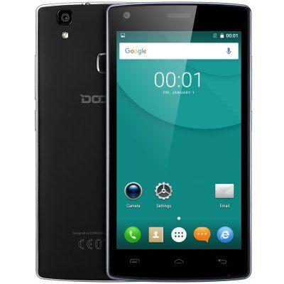 EU Raktár - DOOGEE X5 MAX Pro 4G okostelefon - Fekete