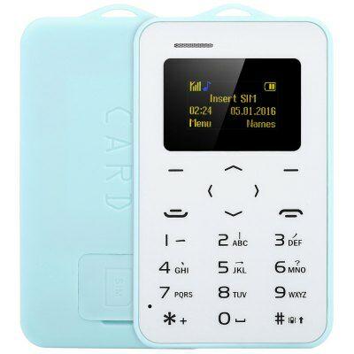AIEK C6 kártya mobiltelefon - Kék