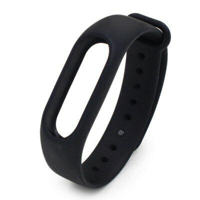 Xiaomi Miband 2 szilikon pót szíj - Fekete