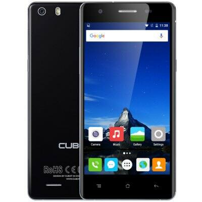 Cubot X16S Android 6.0 4G okostelefon - Fekete