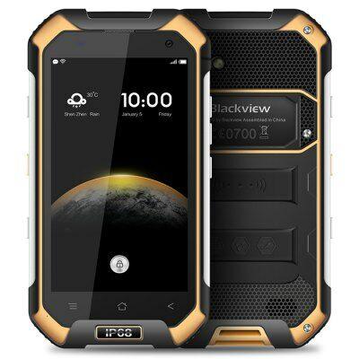 Blackview BV6000S 4G okostelefon - Sárga