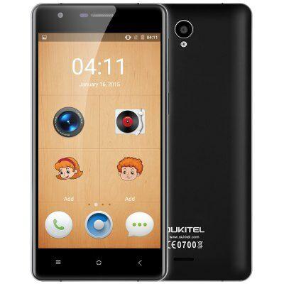 OUKITEL K4000 Lite 4G okostelefon - Fekete