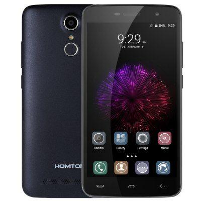 EU4 Raktár - Homtom HT17 Pro 4G okostelefon - Kék