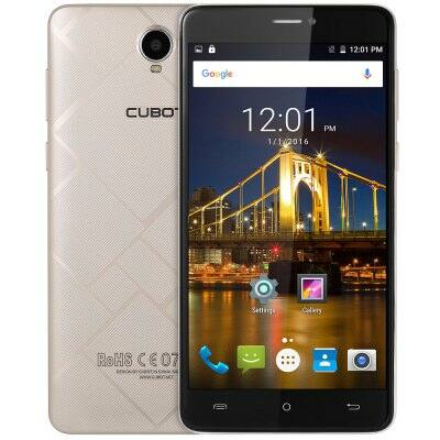 Cubot Max 4G okostelefon - Arany